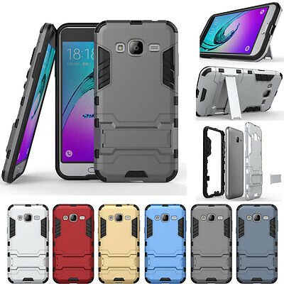 Armor Shockproof Rugged Hybrid Rubber Case Cover For Samsung Galaxy J7 2015 J700