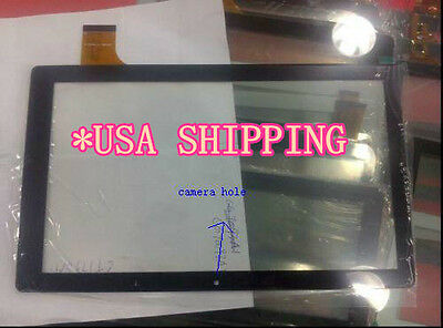 USA SHIPPING- New Touch Screen Digitizer Panel For HIPSTREET PHOENIX HS-10DTB12A