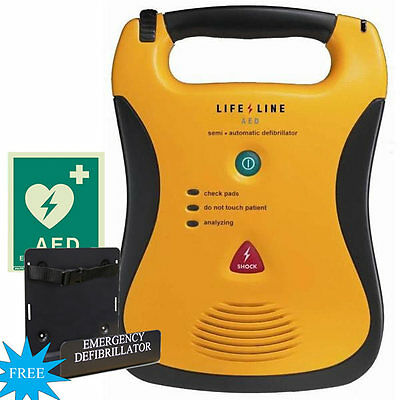 Defibtech Lifeline Semi-Automatic AED (5 Year Battery Package)