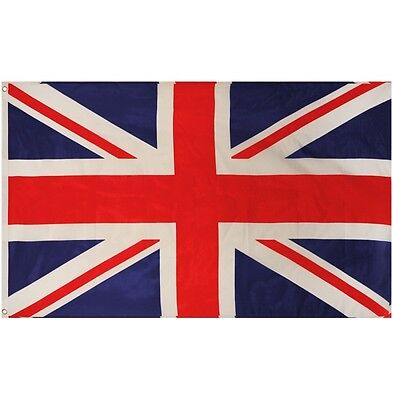 Large Union Jack Flag 9' X 6' Great Britain UK British England New