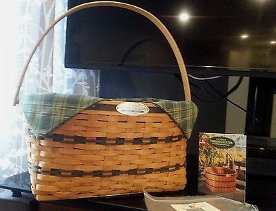 Longaberger 1995 Traditions Collections Family Basket Combo 1st in Series New