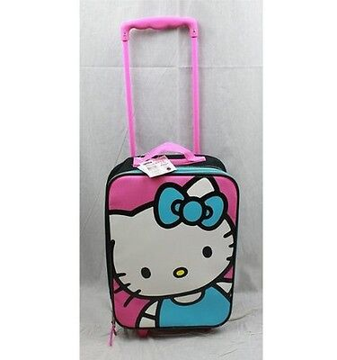 """Licensed Sanrio Hello Kitty® Rolling Suitcase 18""""(H) x 12""""(W) x 5.5""""(D)"""