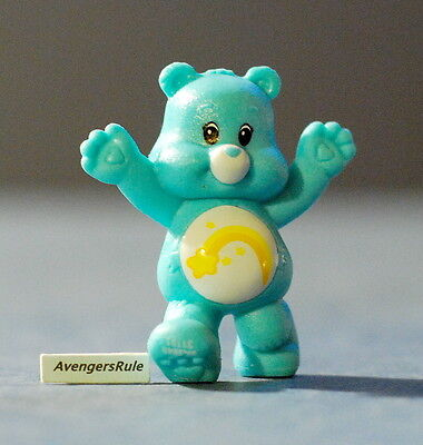 Care Bears Mini Figures Wave 1 Wish Bear Two Hands Up
