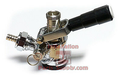 "Domestic Sankey ""D"" Style System Chrome Draft Beer Keg Bar Coupler Lever Handle"