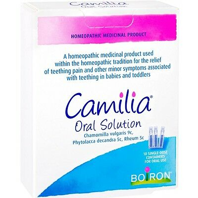 Camilia Oral Teething solution 10 Single Dose