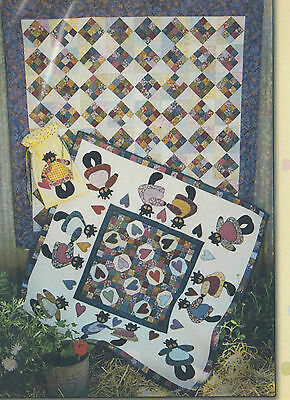 SALE - Circle of Friends 3 - pieced & applique quilts PATTERN