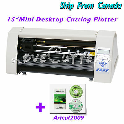 "Redsail 15"" Vinyl Sticker Cutter Cutting Plotter SignMaking Machine & Artcut2009"