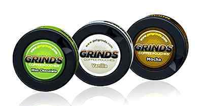 Mint Mocha Vanilla Can Grind Coffee Pouch Chew Food  Health Drink Home Kitchen