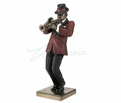 Jazz Band Collection - Trumpet Player Sculpture Musician Statue Figurine