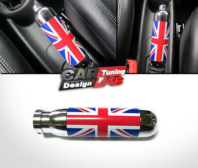 UK Red Blue Interior Handle Hand Brake Emergency Cover For 02-13 Mini Cooper