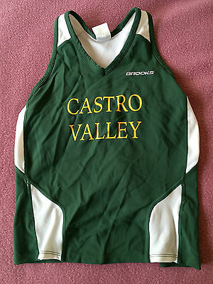 Castro Valley High School Track and Field Running Singlet Shirt, Womens Medium