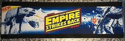 "Star Wars The Empire Strikes Back Arcade Marquee 26""x8"""