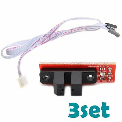 3pcs RAMPS 1.4 Optical Endstop Limit Light Control Optical Switch 3D Printer AU