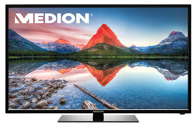 "MEDION LIFE P15219 LED-Backlight TV 80cm/31,5"" HD DVB-T2 Triple Tuner HDMI USB A"