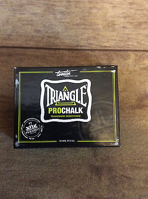 triangle pro chalk - sold by coutts cues