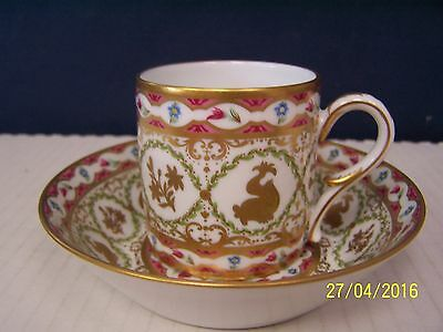Royale ( France ) Limoges DAUPHINS Cup and Saucer