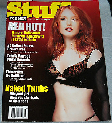 Stuff Magazine February/March 2000 Alicia Witt Jodi Lyn O'Keefe Ana Paula