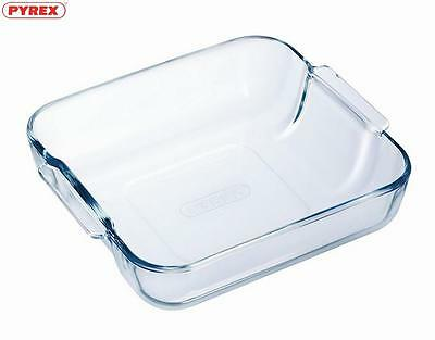 Pyrex Multipurpose Square Roaster 21Cm Food Cookware Bakeware Kitchen Home New