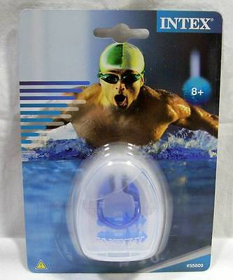 Intex Swimming Ear Plugs Nose Clip Combo Set w/Case