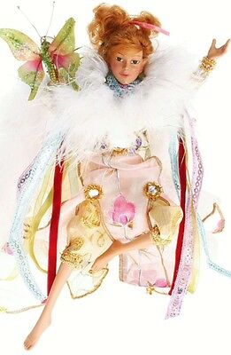 """MARK ROBERTS BUTTERFLY SPRITE 51-11956 LARGE 16"""" DOLL RETIRED New in Box Limited"""