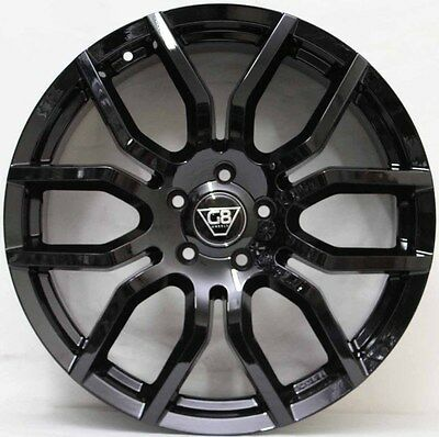 20 inch GENUINE G8 F- SERIES GLOSS BLACK WITH NEW TYRES TO FIT HOLDEN CRUZE