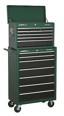 Sealey 16 Drawer Tool Storage Box Top Chest Roller Cabinet AP22507 & AP22509 - G