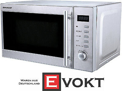 Sharp R-20STW Compact Microwave Oven Stainless Steel 800W 20L Genuine NEW