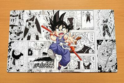 C1824 Dragon Ball Z Goku Card Game Playmat Anime Large Mouse Pad Free Mat Bag
