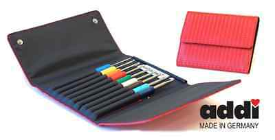 Addi Colours Crochet Hook Set Complete with Case - 9 Hooks sizes 2mm - 6mm