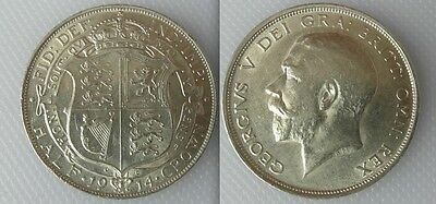 Collectable 1914 King George V Half-Crown Coin