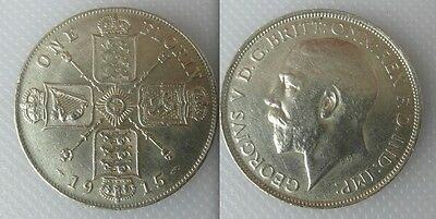 Collectable 1915 Silver One Florin Coin Of King George V