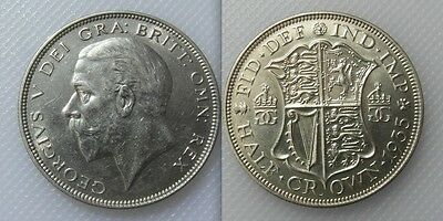 Collectable 1935 King George V Half-Crown Coin - E.F Condition