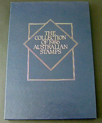 Collection of 1986 Australian Stamps Deluxe YearBook - NEW as issued by AP