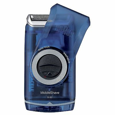 Braun M60b Procter & Gamble PocketGo MobileShave Portable Shaver with Smartfoil