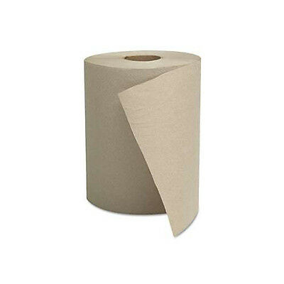 General Supply 8 in. x 500 ft. 1-Ply Hardwound Roll Towels (12-Pack) 600HN New