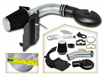 Cold Heat Shield Air Intake + BLACK Filter for 98-03 Durango 5.2L 5.9L V8