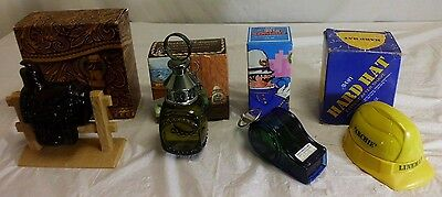 Lot of 4 Vintage RARE Avon Cologne After Shave Collector Bottles