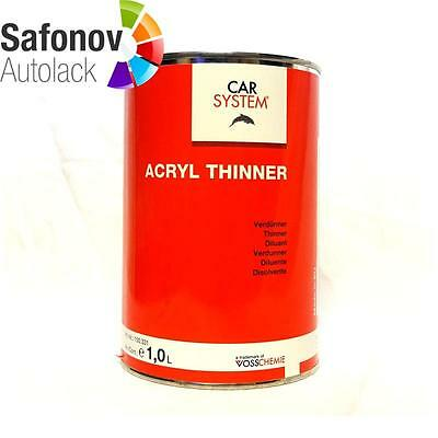 CAR SYSTEM Acrylic Thinner transparent 5 Liter 141.479