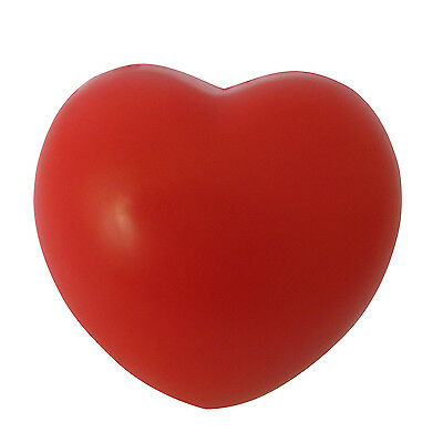 Heart Stress Reliever Ball Red Baby Toy Wedding Decoraton DM