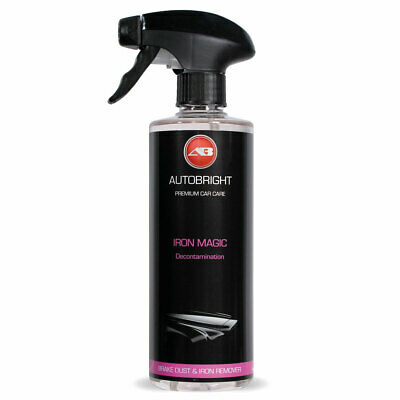 Wheel Cleaner Iron Fallout Remover Contamination Remover + Gloves Autobright