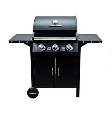 Outdoor Gas Barbecue Garden Portable Stainless Steel Grill 3 Burner Professional