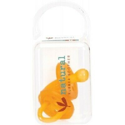 NATURAL RUBBER SOOTHERS Twin Pack Small Rounded (0-3 Mths)
