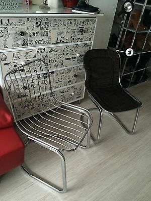 Vintage retro couch sofa garnitur 2 easychair sessel for Couch 70er jahre