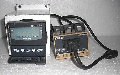 Samwha EOCR-FDE-220 M408257 Converter Electronic Over-current Relay Keypad Panel