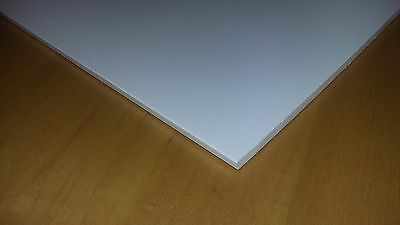 """1/4"""" Thick White Starboard 8.5"""" x 12"""" - Perfect for boats"""