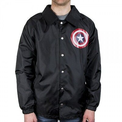 Captain America Coach Jacket M Brand New