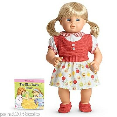American Girl Bitty Twin Birthday Skirt Outfit Nib Ret Doll Not Included Baby