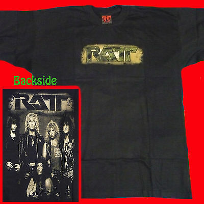 T-SHIRT RATT Tell the World: The Very Best HEAVY METAL CD SIZE XL
