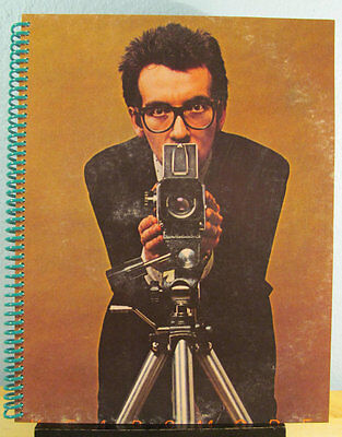 """for the Elvis Costello """"This Years Model"""" FAN  Album COVER NOTEBOOk 1978 WOWEEE"""