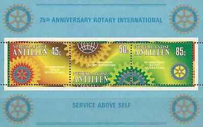 Timbres Rotary International Antilles NL BF12 ** lot 13020